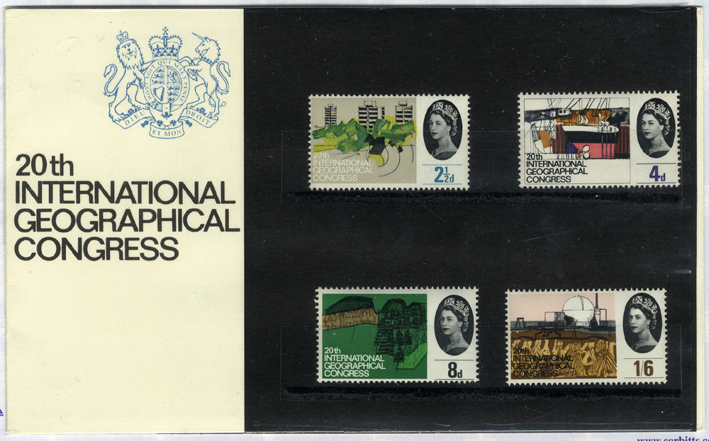 1964 Geographical Presentation Pack