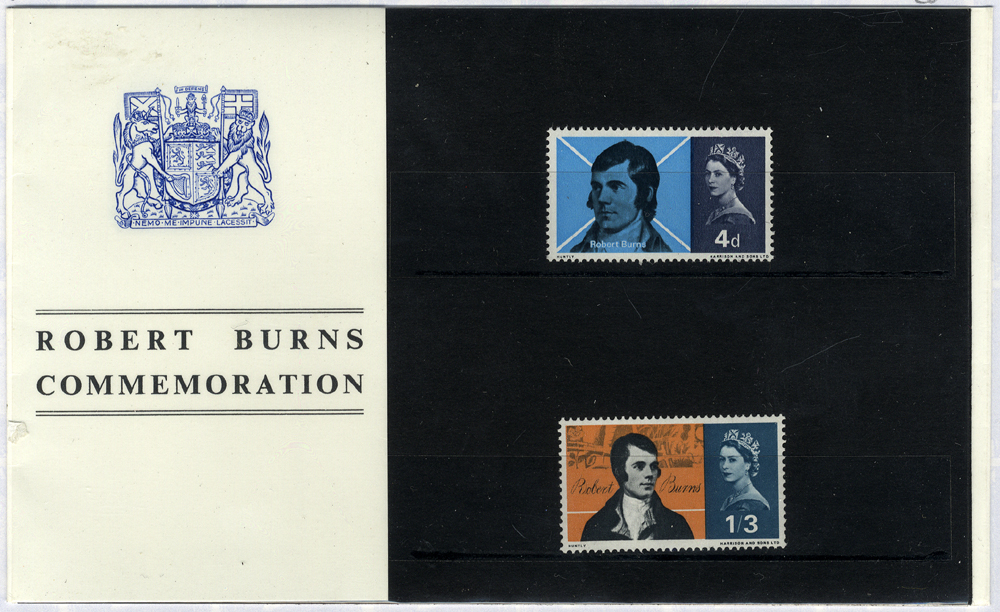 1966 Robert Burns Presentation Pack