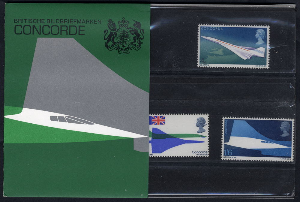 1969 Concorde Presentation Pack - scarce German Edition