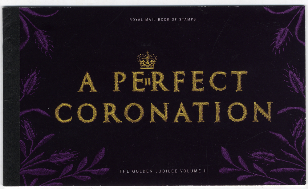 2003 A Perfect Coronation - prestige stamp booklet, complete (DX31), perfect condition.