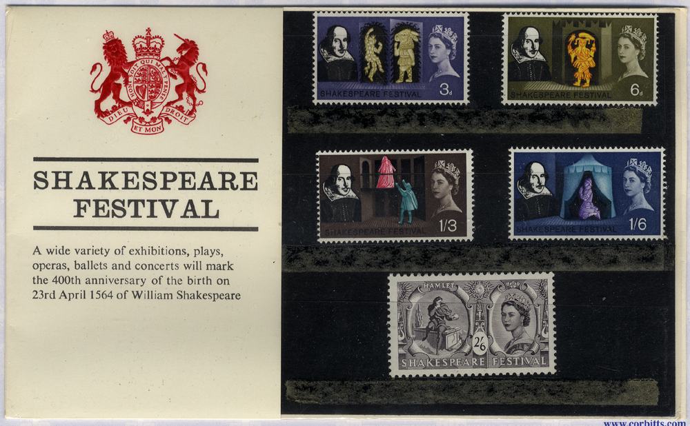 1964 Shakespeare Presentation Pack