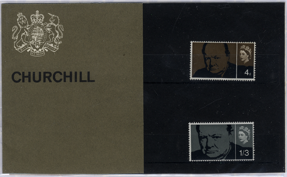 1965 Churchill Presentation Pack