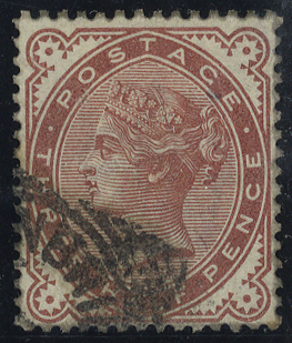 1880 1½d Venetian red, very fine used, SG.167, Cat. £60