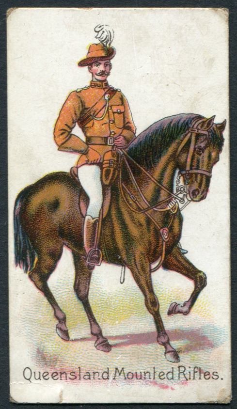 Harvey & Davy (Newcastle upon Tyne) 1902 Colonial Troops - Queensland Mounted Rifles