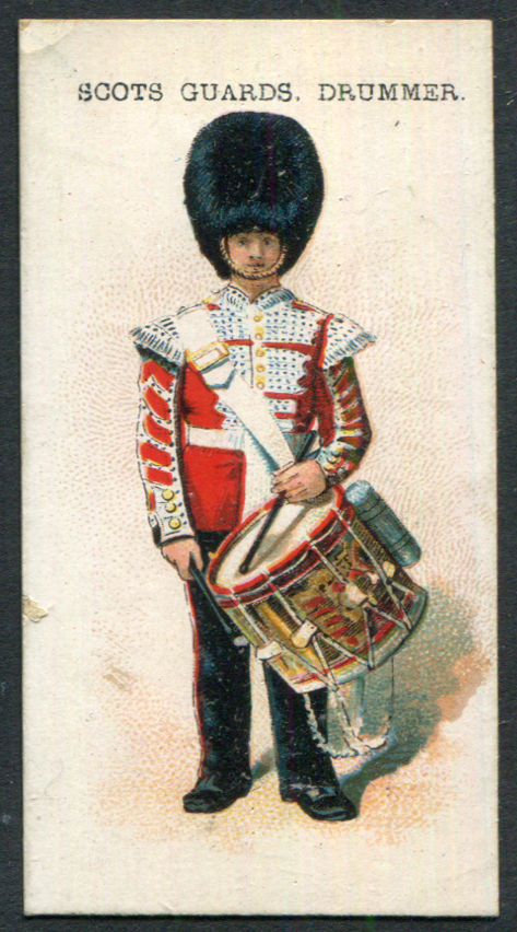Harvey & Davy (Newcastle upon Tyne) 1901 Types of British & Colonial Troops - Scots Guards Drummer