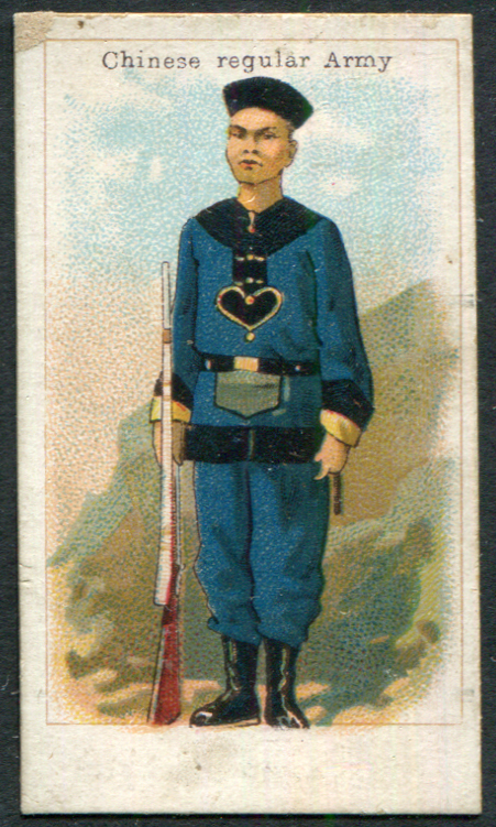 Harvey & Davy (Newcastle upon Tyne) 1901 Chinese & South African Series - Chinese Regular Army