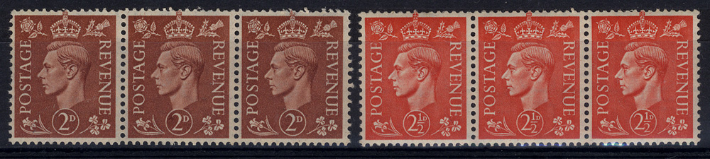 1951 varieties on KGVI definitives