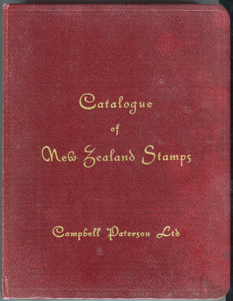 CATALOGUE OF NEW ZEALAND STAMPS