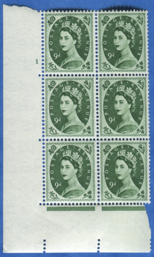 1955 Edward Crown 9d - Cylinder block