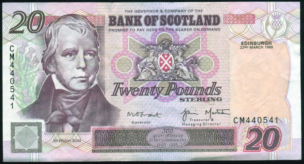 1999 Grant/Masterton £20