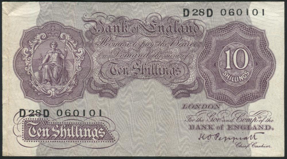 1940-48 Peppiatt 10s mauve (emergency issue)