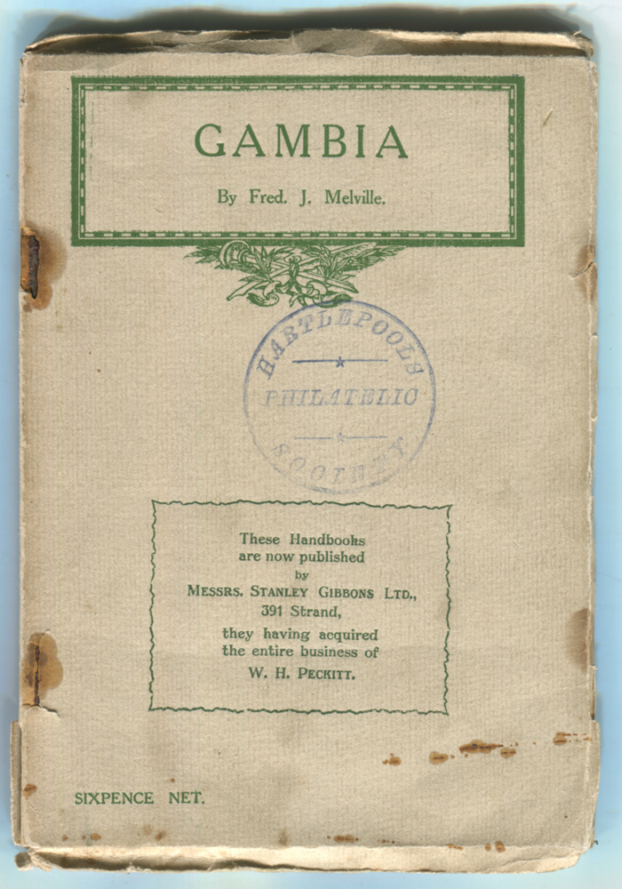 GAMBIA by Fred. J. Melville
