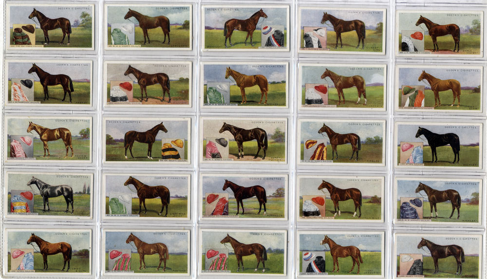 Ogdens 1926 Derby Entrants, complete set of 25, Cat. £65