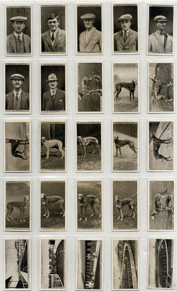 Ogdens 1928 Greyhound Racing, 2nd series, complete set of 25, Cat. £110
