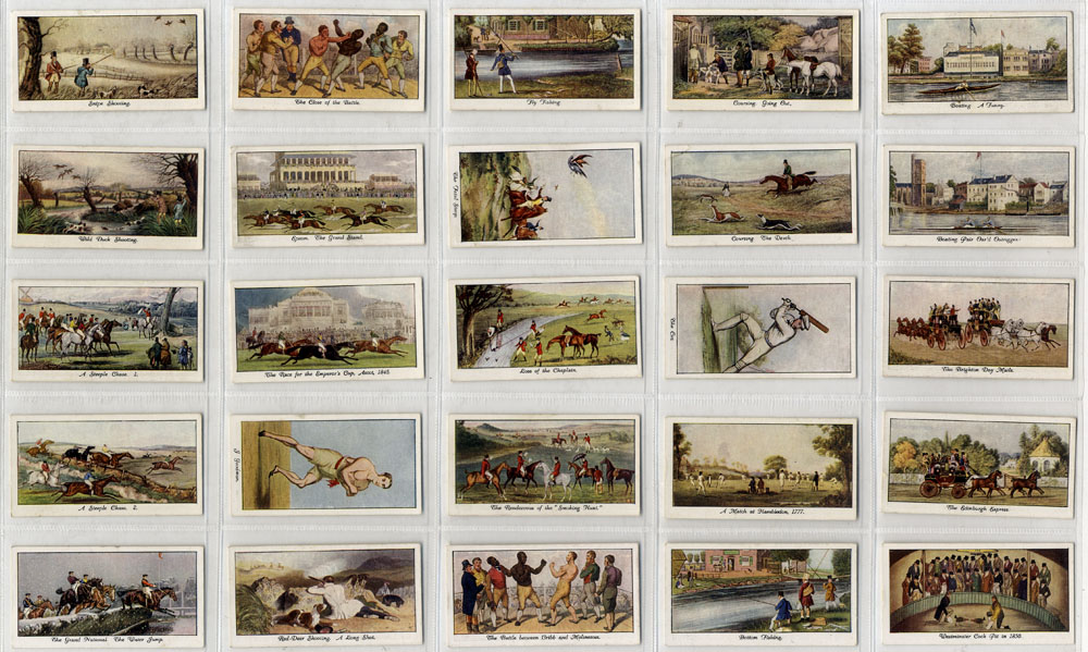 Stephen Mitchell 1930 Old Sporting Prints, complete set of 25, Cat. £40