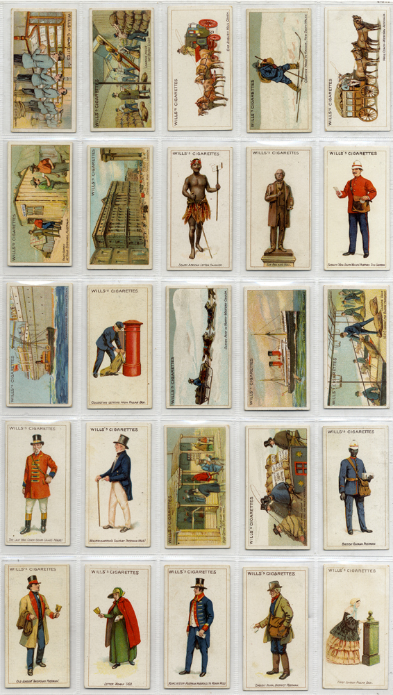 Wills (Capstan Navy Cut) 1913 Royal Mail, complete set of 50, Cat. £190