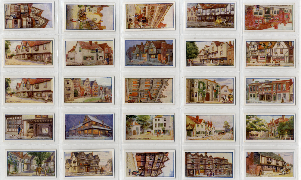 Richard Lloyd 1923 Old English Inns, complete set of 25, Cat. £45