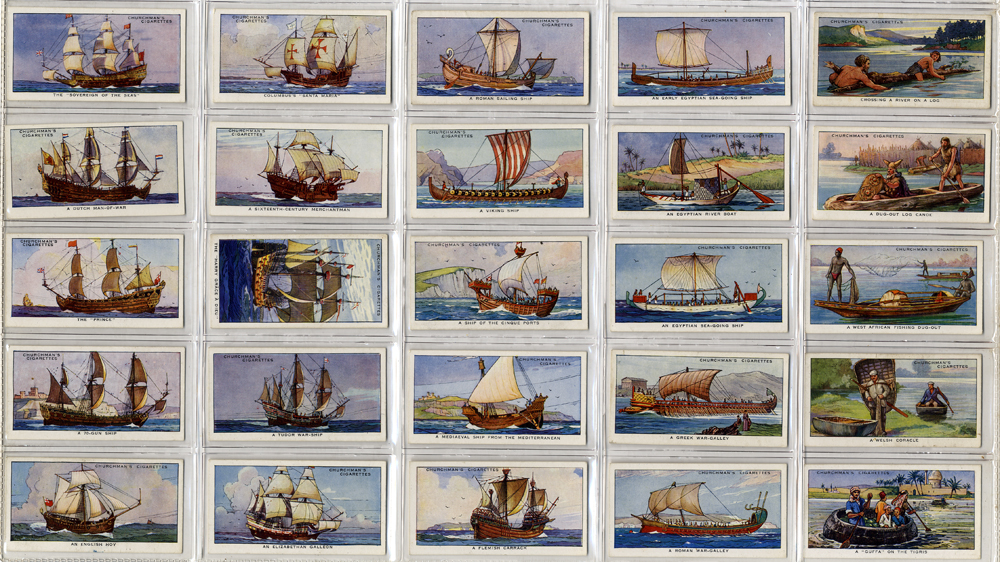 Churchman 1937 The Story of Navigation, complete set of 50, Cat. £27.50