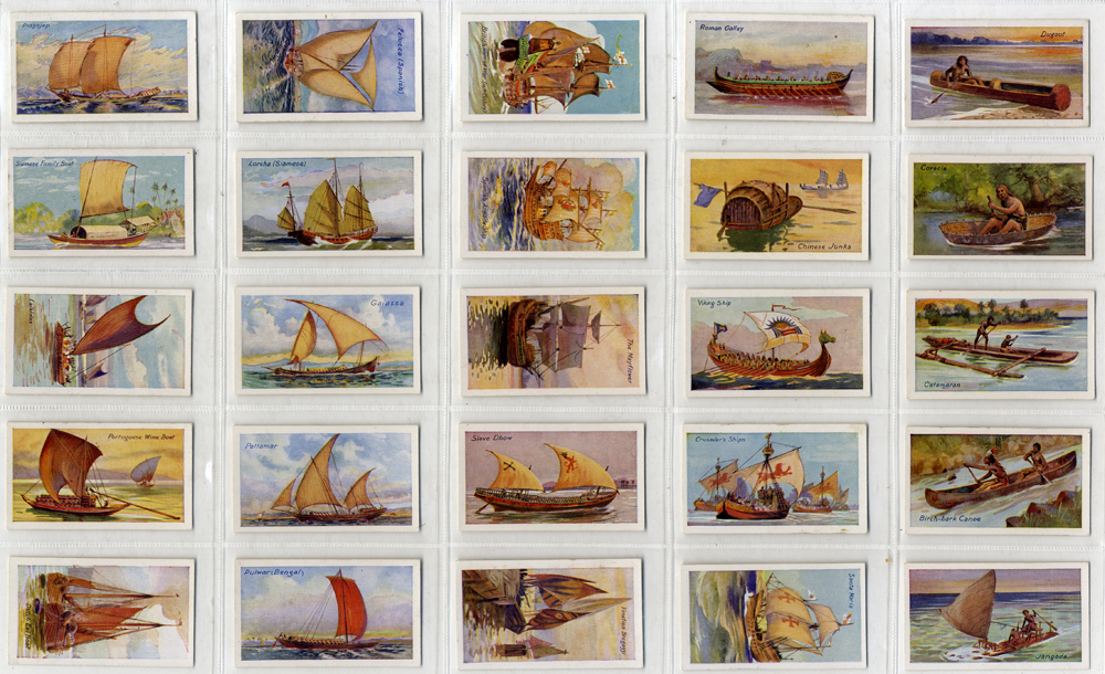 Sarony 1929 Ships of All Ages, 49 out of 50, Cat. £58.80