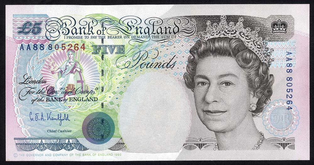 1990 Gill £5