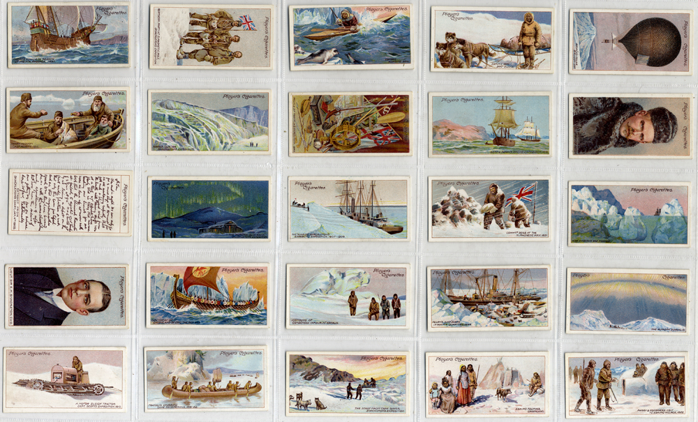 John Player 1915 Polar Exploration, complete set of 25, Cat. £65