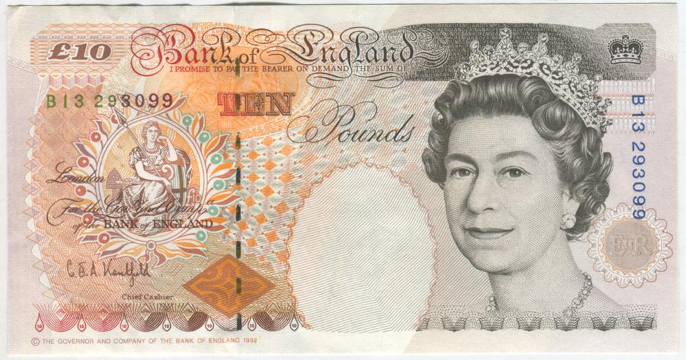 1992 Kentfield £10