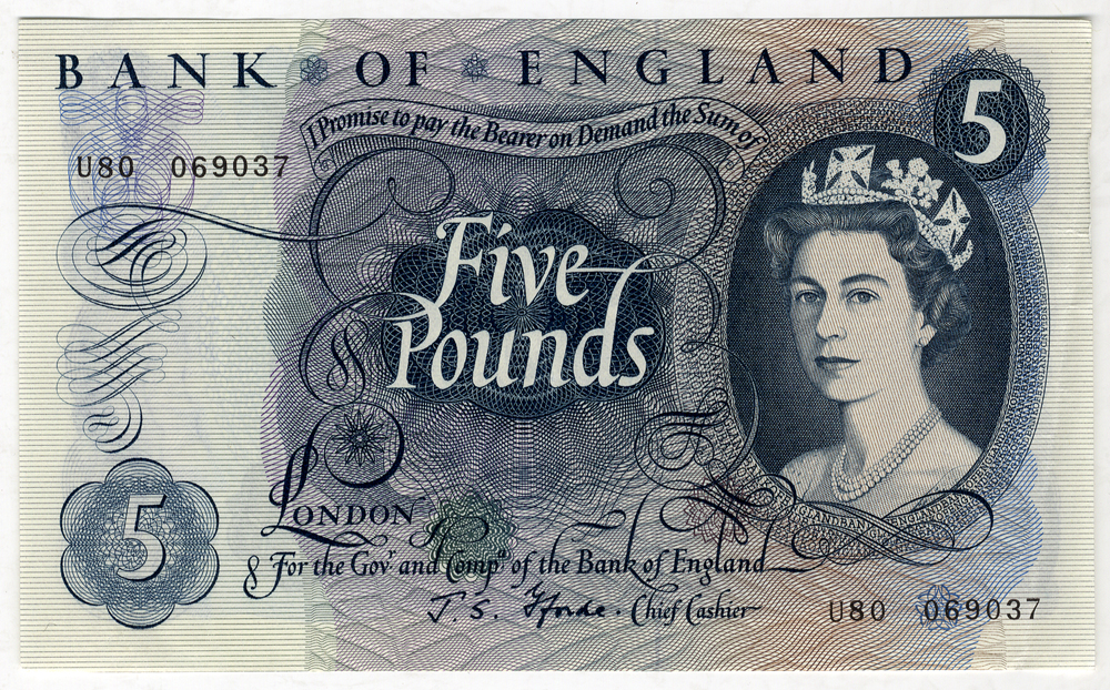 1967 Fforde £5
