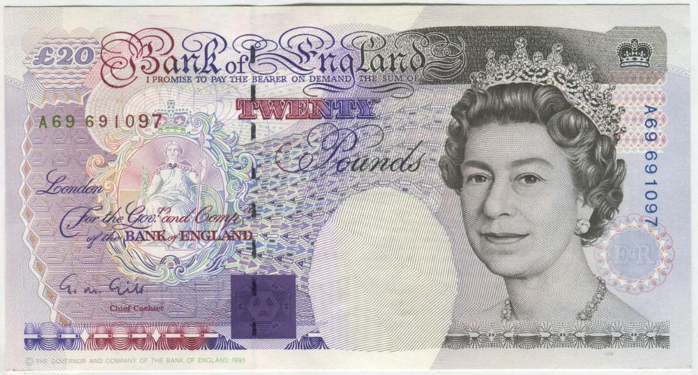 1991 Gill £20