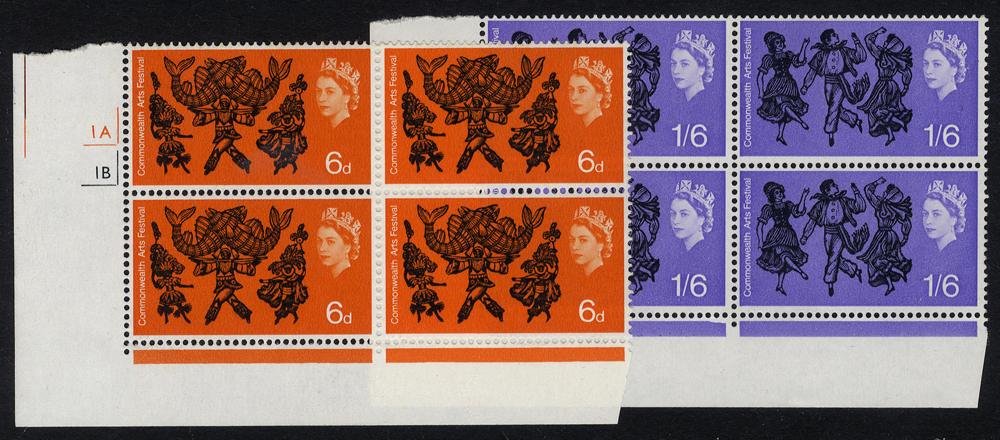 1965 Arts UM Cylinder blocks of four