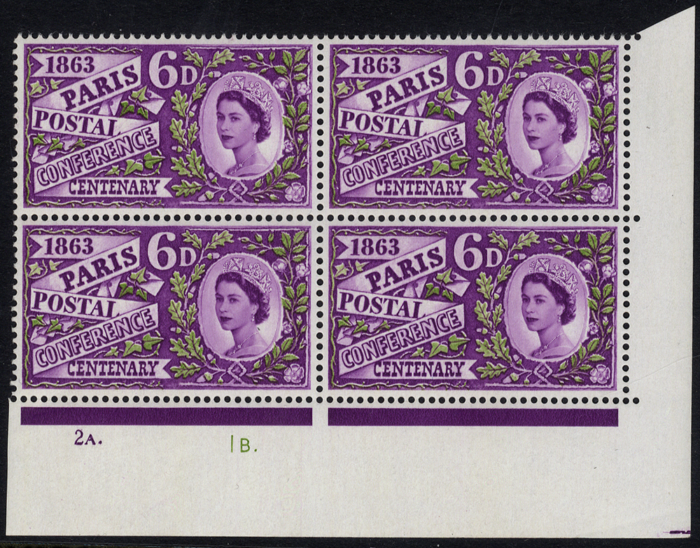 1963 Paris 6d, UM Cylinder block of four
