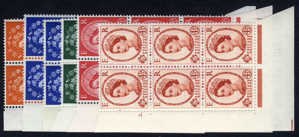 1958 Multiple Crown Wildings Cylinder blocks of six