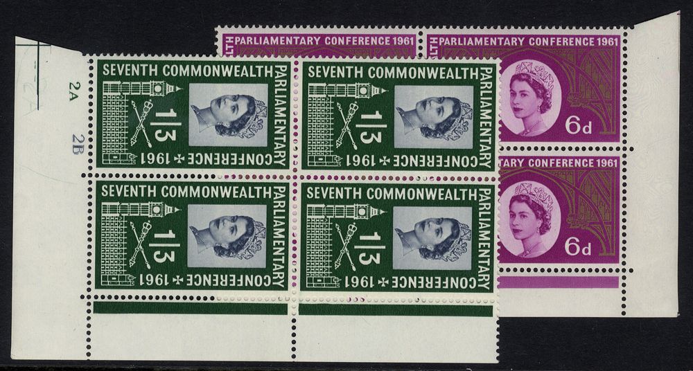 1961 Parliamentary Conference set - Cylinder blocks of four