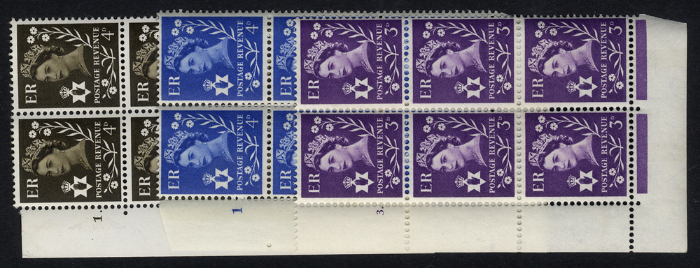 NORTHERN IRELAND Cylinder blocks of six