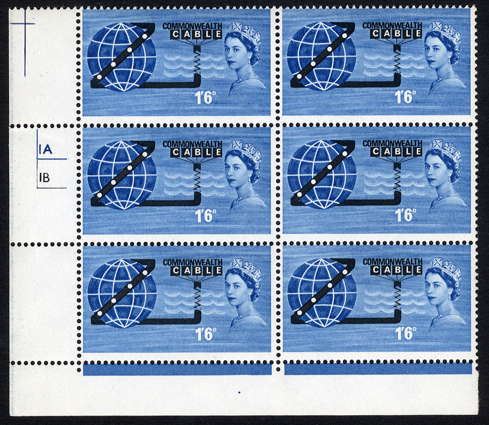 1963 COMPAC Cylinder block of six