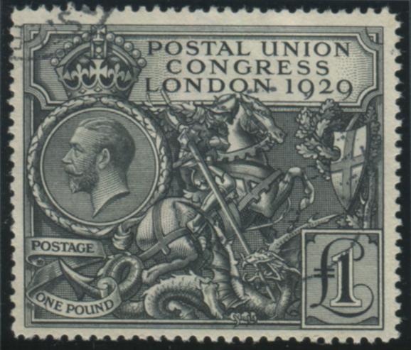 1929 £1 PUC, superb used