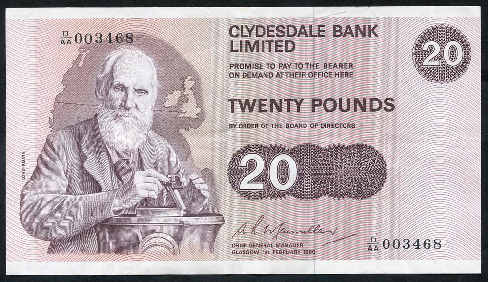 1982 Macmillan £20