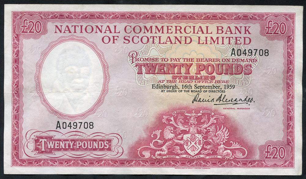 1959 David Alexander £20