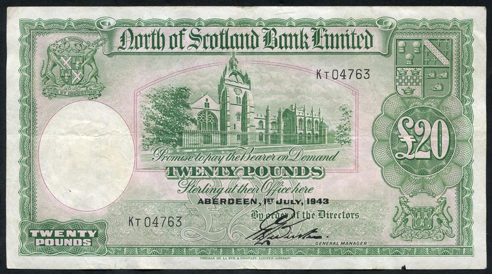 1943 Webster £5