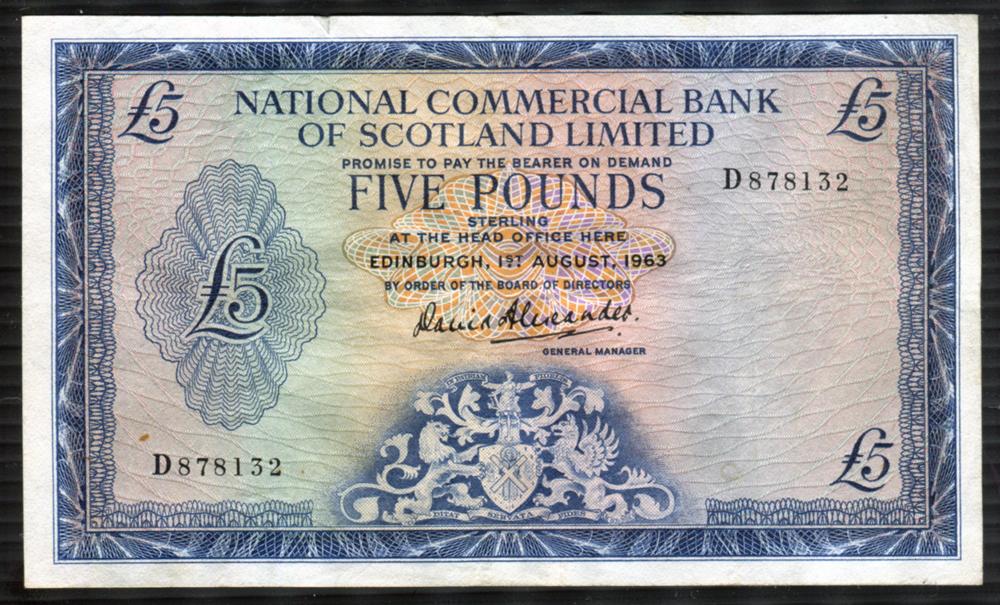 1963 Alexander £5