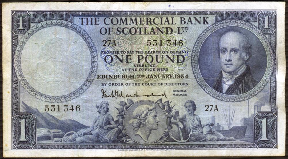 1954 Macdonald £5