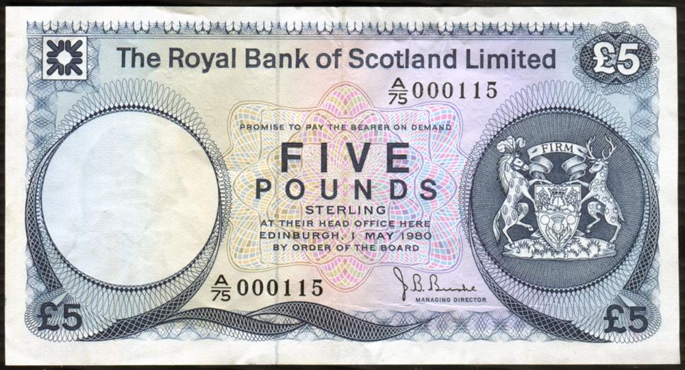 1980 Burke £5