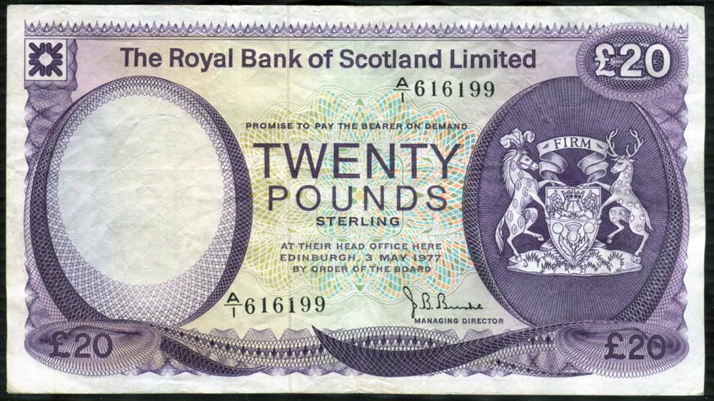 1977 Burke £20
