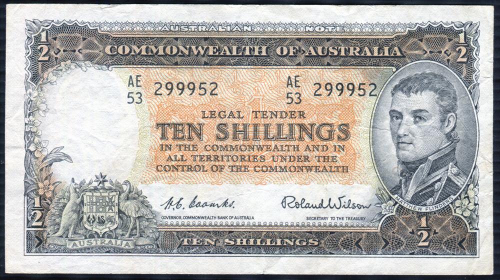 Australia 10 shillings