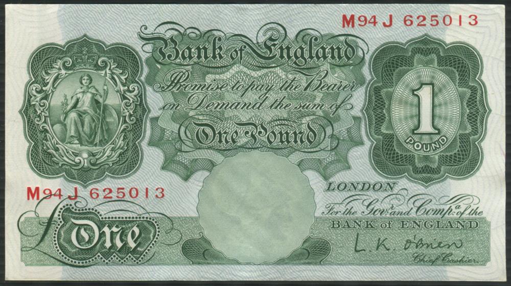 1955 O'Brien £1