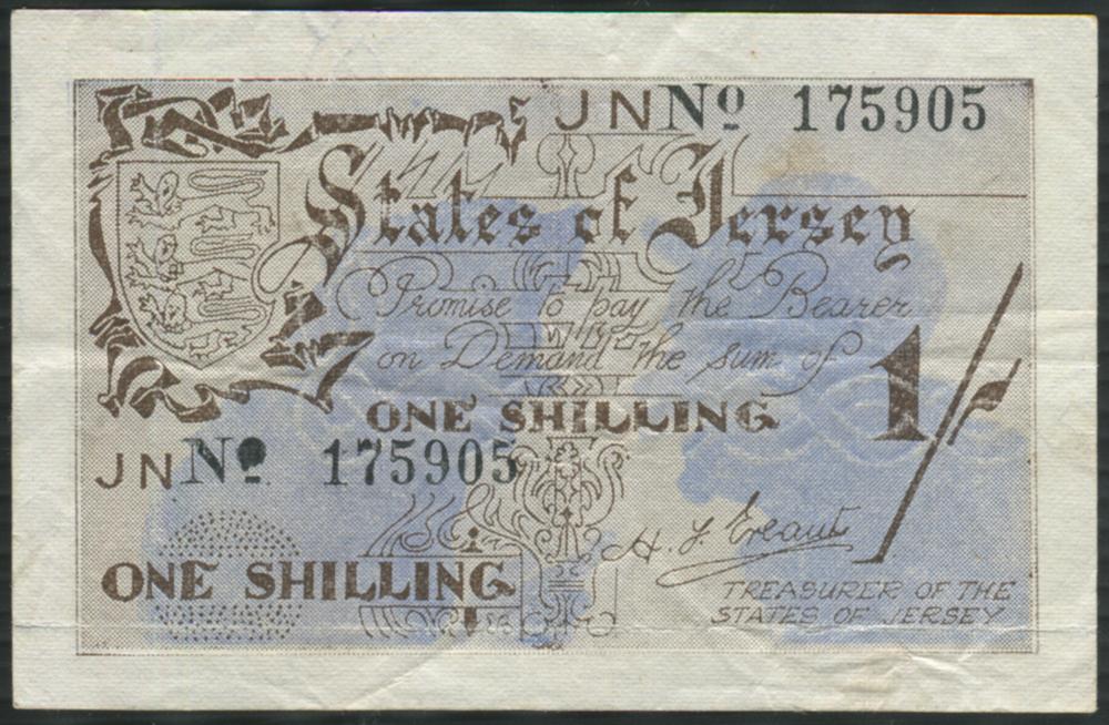 Jersey 1 shilling