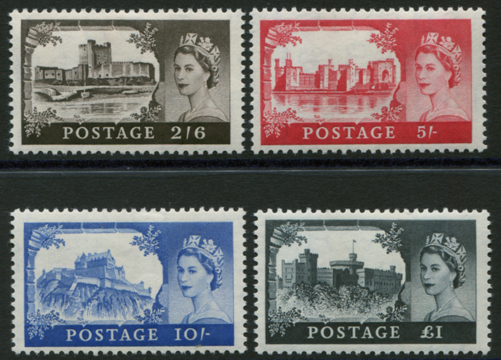 1958 1st DLR Castle set, fine M