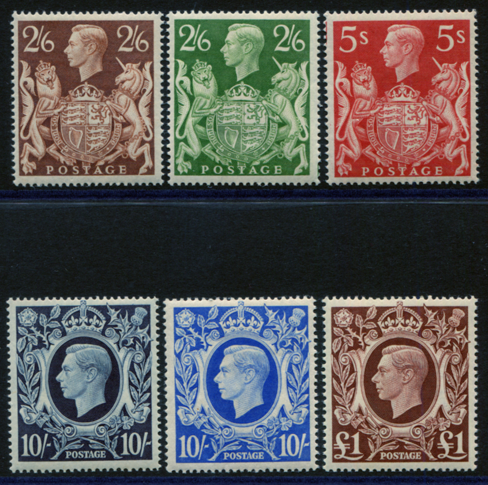 1939 High Value set - UM