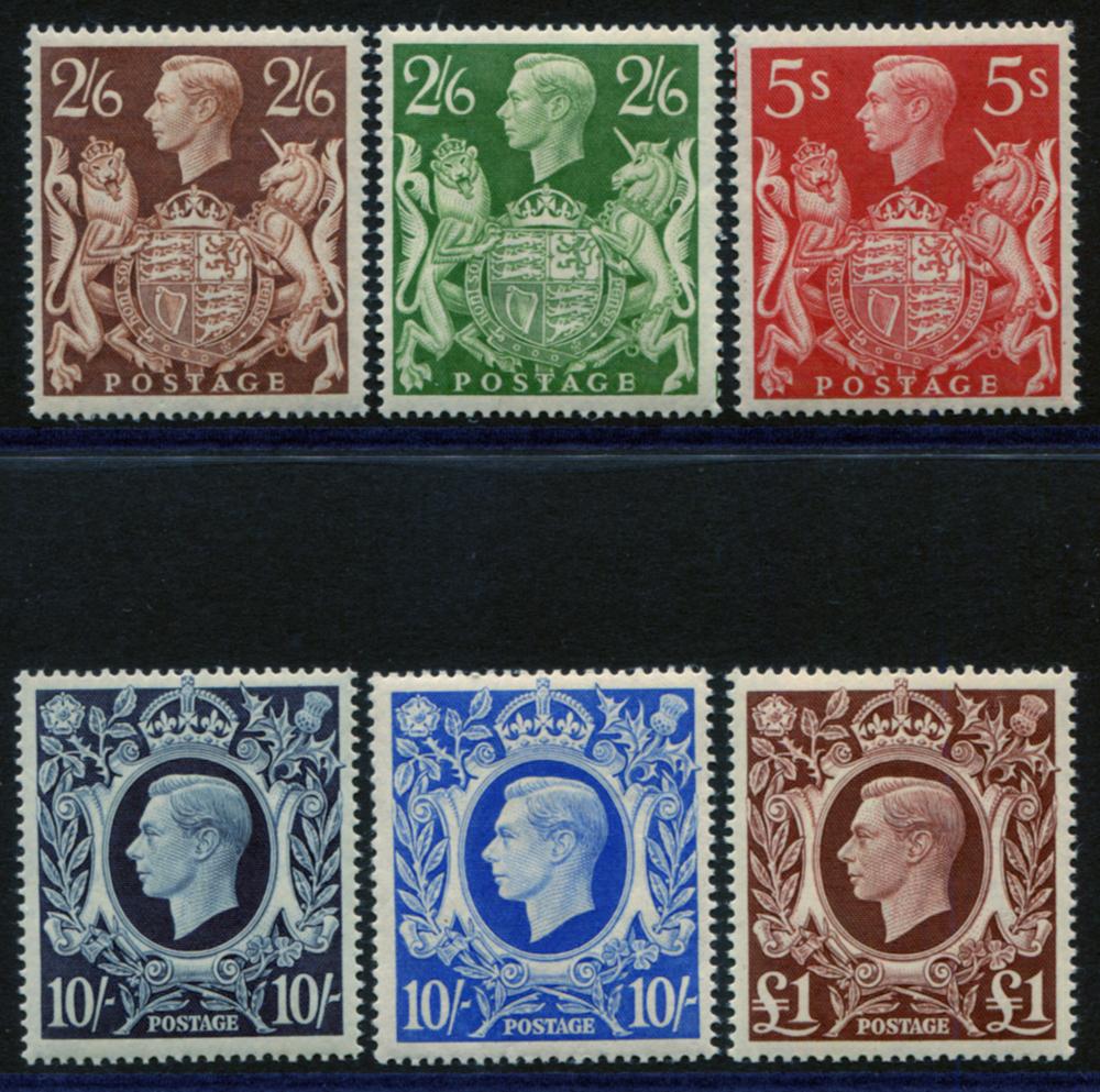 1939 High Value set - UM