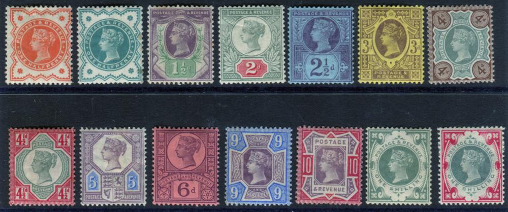 1887 Jubilee set