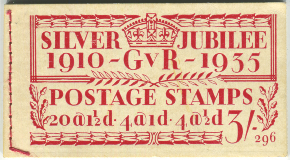 1935 Silver Jubilee 3s Booklet (Edition 296)